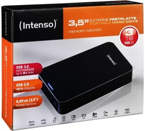 """Intenso Memory Center - externe 3,5"""" Festplatte mit 3TB Speicher für 79,99€"""