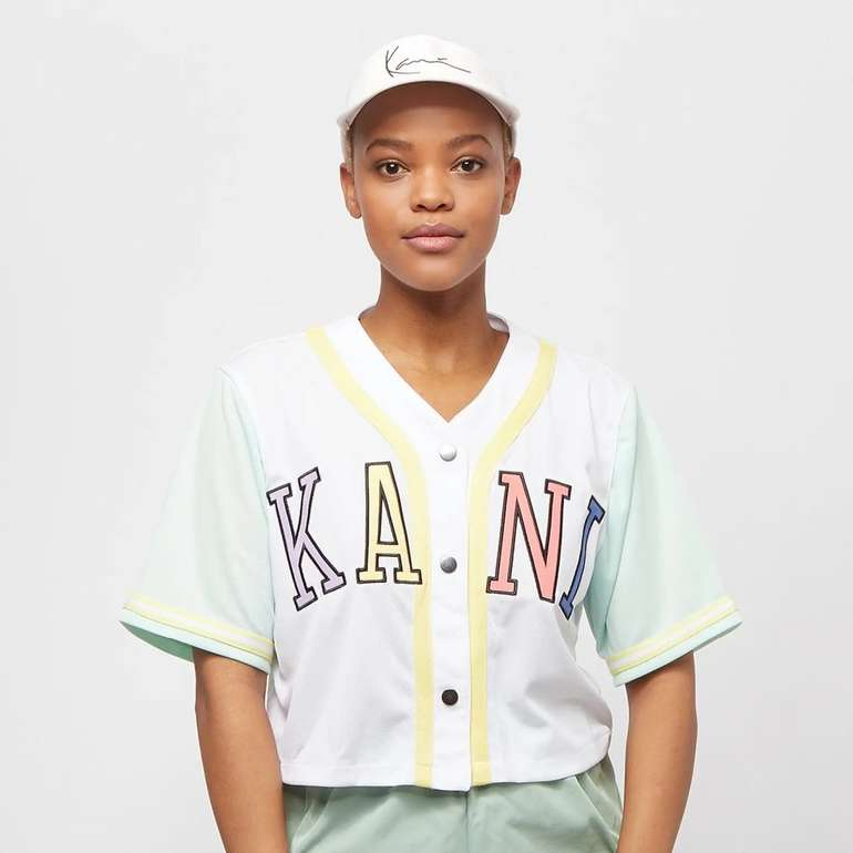 Karl Kani College Block Short Baseball Damen Shirt für 26,38€ (statt 44€)