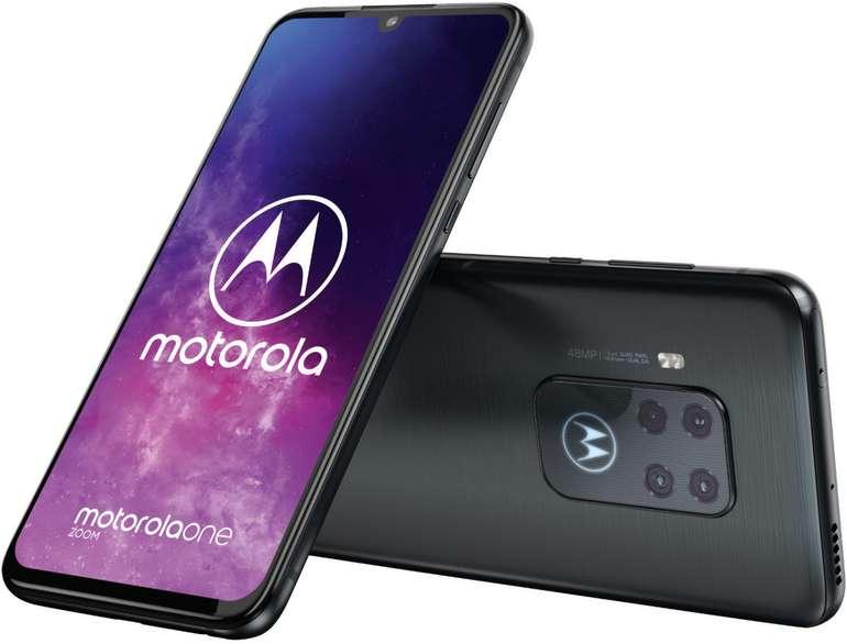 "Motorola One Zoom - 6,4"" Smartphone (FHD+, 4 GB RAM, 128 GB Speicher) für 317,98€ inkl. VSK"