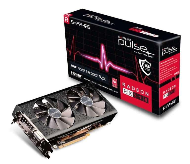 Sapphire Pulse RX 590 8GB (11289-06-20G) Grafikkarte für 167,89€ - Paydirekt!
