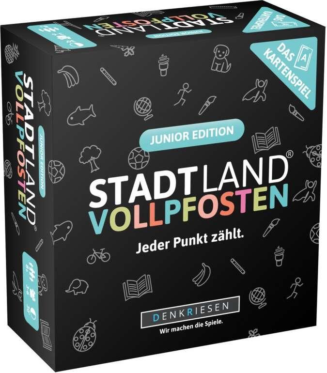 Denkriesen Kartenspiel 'Stadt Land Vollpfosten' (Junior Edition) für 11,64€ inkl. Versand (statt 19€) - Thalia Club!