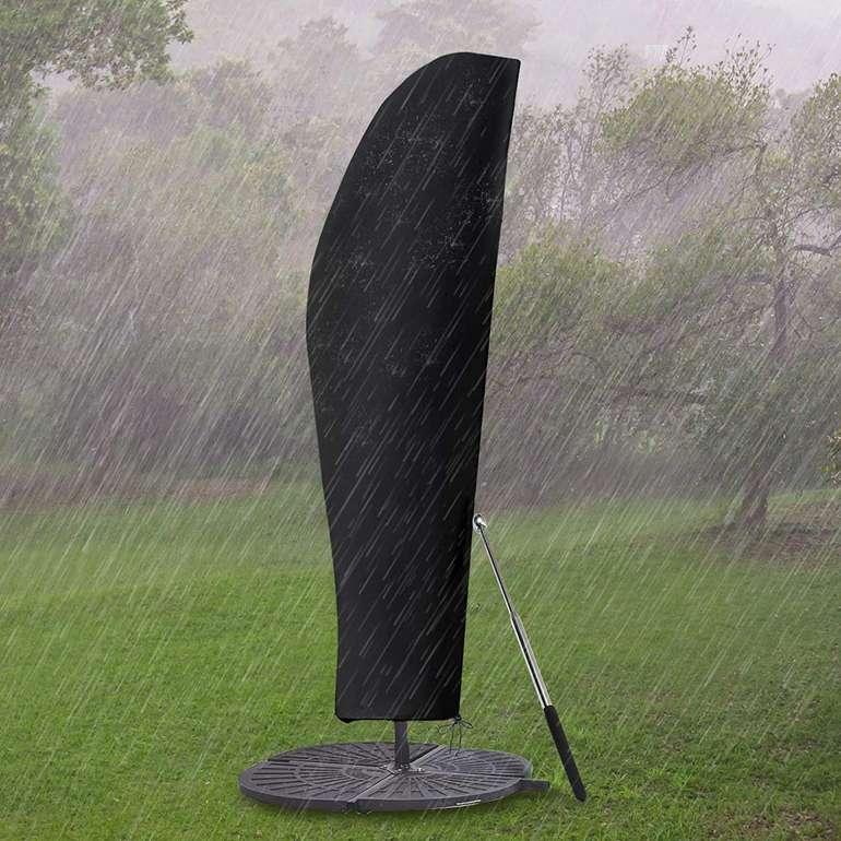 Gemitto Sonnenschirm Schutzhülle mit Stab (420D, 2 bis 4m) für 10,99€ inkl. Prime Versand
