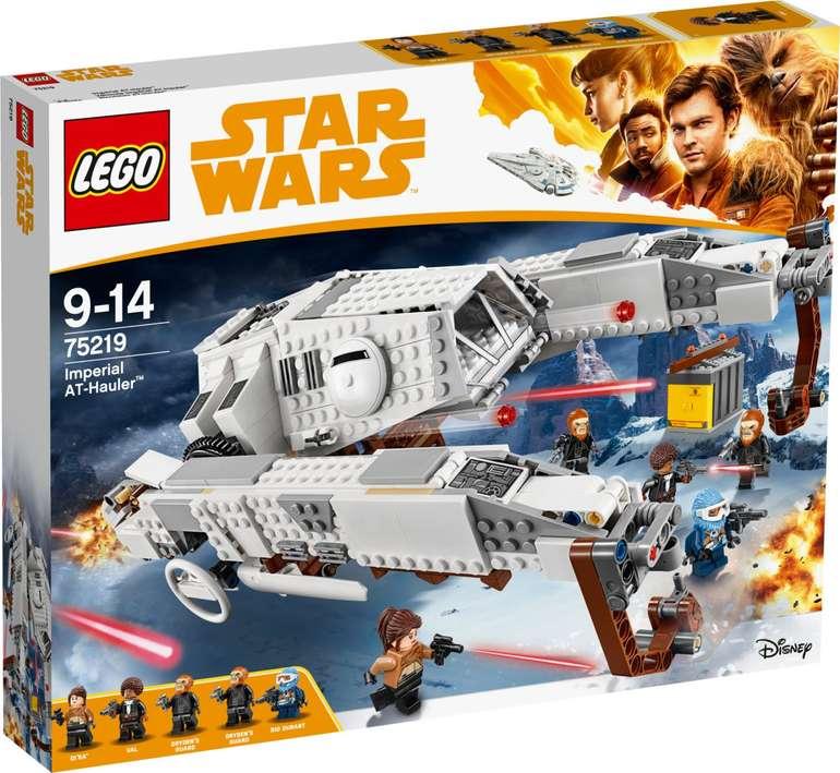 Galeria.de: 15€ Rabatt auf Spielzeug - Lego zum Bestpreis!, z.B. Star Wars 75219 Imperial AT-Hauler für 49,99€