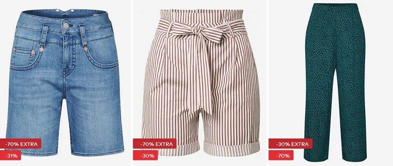 About You Damen Shorts Hosen Rabatt