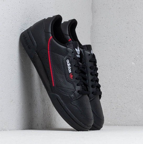 "adidas Originals Continental 80 Herren Sneaker im ""Core Black""-Colourway für 40,46€ inkl. Versand"