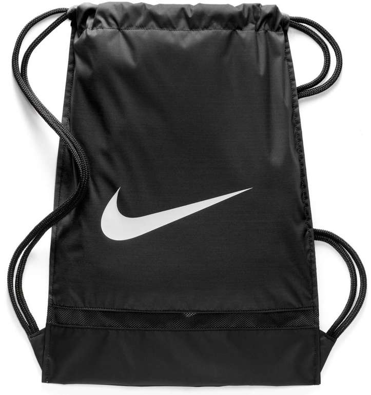 Nike Sportbeutel Brasilia schwarz/weiß für 7,13€ inkl. Versand (statt 12€)