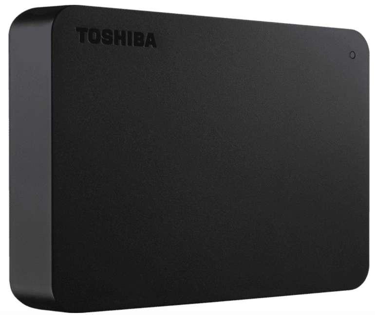 Toshiba Canvio Basics Exklusiv - Externe 2,5 Zoll Festplatte mit 2TB Speicher für 59€ inkl. Versand (statt 74€)