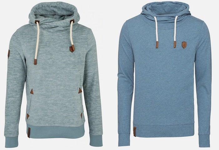 Naketano Pullover in rauchblau oder in grün