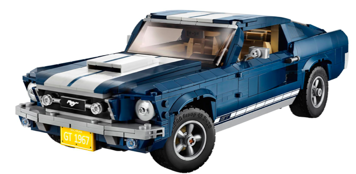 Lego Creator Ford Mustang (10265) + Ford Mustang Fastback (75884) für 129,99€