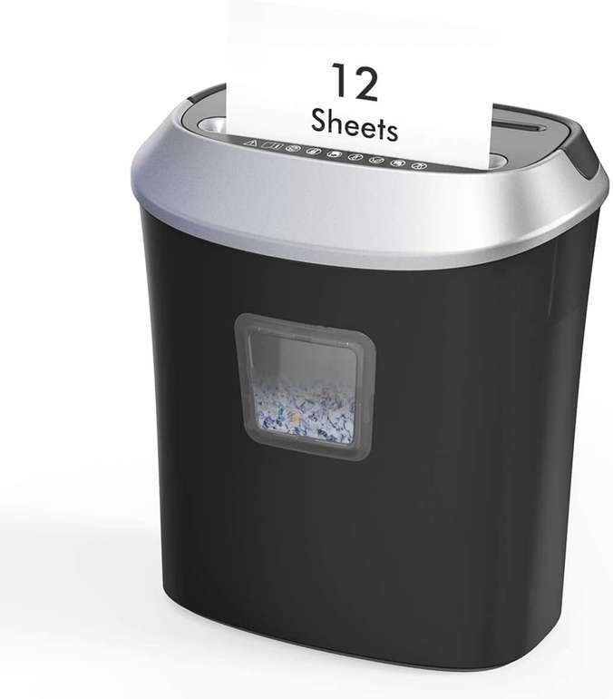 Dodocool Aktenvernichter mit CD-Shredder (12 Blatt, 22L) für 47,99€ inkl. Versand (statt 63€)