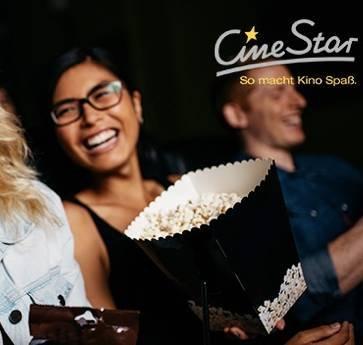 3x CineStar Kinotickets inkl. Überlänge für 19,50€ (statt 38€)