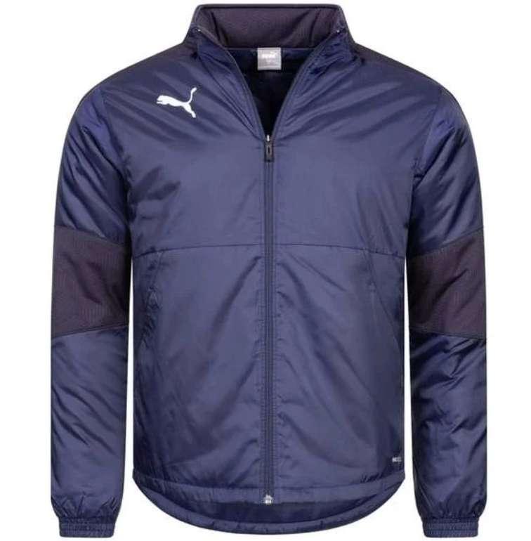 Puma TeamFinal21 - gepolsterte wasserabweisende Herren Winterjacke (versch. Farben) für je 31,22€ (statt 44€)
