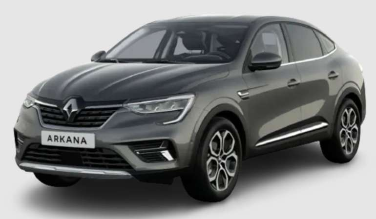 Privat Leasing: Renault Arkana TCe EDC Intens mit 140 PS für 164€ mtl. (Überführung: 690€, LF: 0,51)