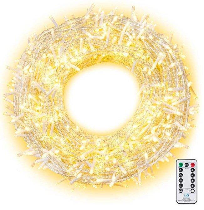 Ollny LED Lichterkette 100 Meter (800 LEDs) für 31,19€ (statt 39€)