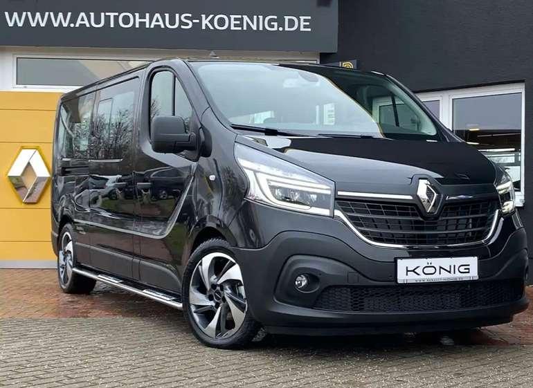 """Privat Leasing: Renault Trafic Grand Combi """"Free by Irmscher"""" mit 146 PS für 249€ mtl. (ÜF: 999€, LF: 0,42)"""