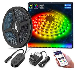 5m Minger DreamColor LED Streifen mit Musik Sync für 18,69€ inkl. Versand