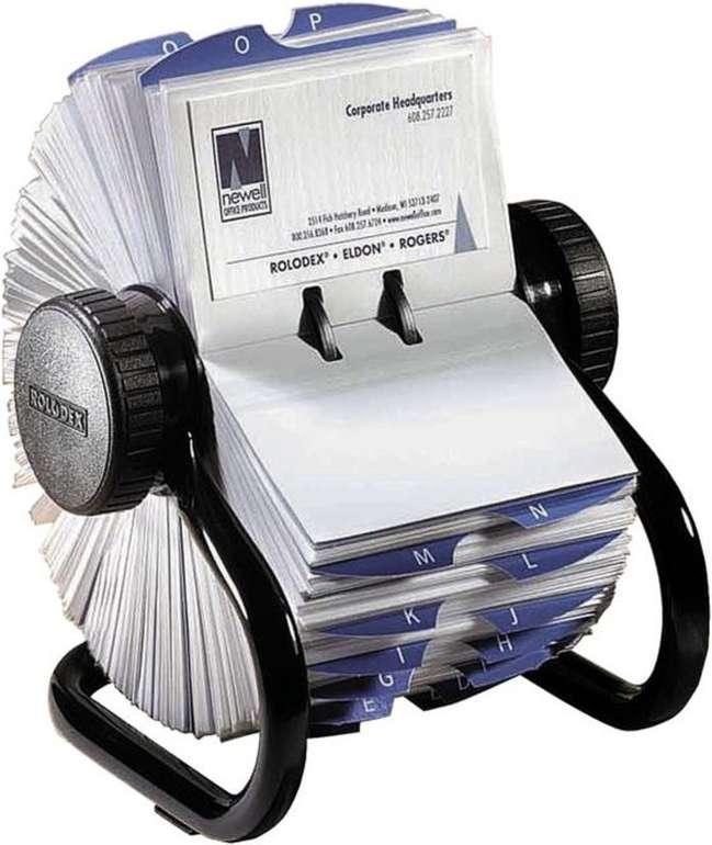 2x Rolodex Rollkartei aus Chrom (je 400 Visitenkarten) für 15,90€ inkl. Versand (statt 72€)