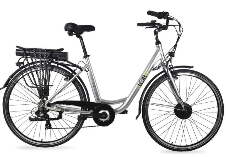 LLobe SilverLine Alu Elektro City Bike (28 Zoll) für 731,08€ inkl. Versand (statt 859€)