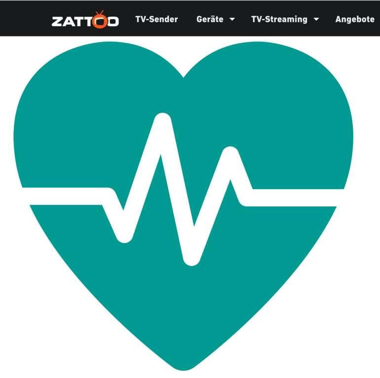 Zwei Monate Zattoo Ultimate für medizinische Mitarbeiter kostenlos (auch Bestandskunden)