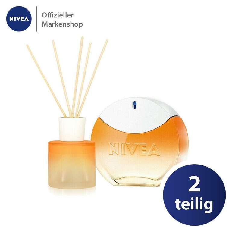 Nivea SUN Duftset: 30ml Eau de Toilette Parfum + 90ml Raumduft Exklusiv für 36,79€ (statt 51€)