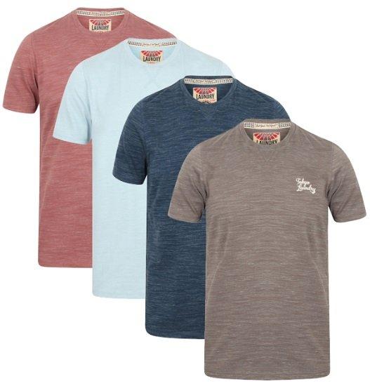 Tokyo Laundry Sun Lake Crew Neck Herren T-Shirts für je nur 4,44€ zzgl. VSK