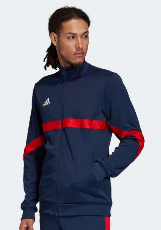 adidas TAN Tape Clubhouse Jacke in 2 vers. Farben zu je 33,58€inkl. Versand (statt 70€)