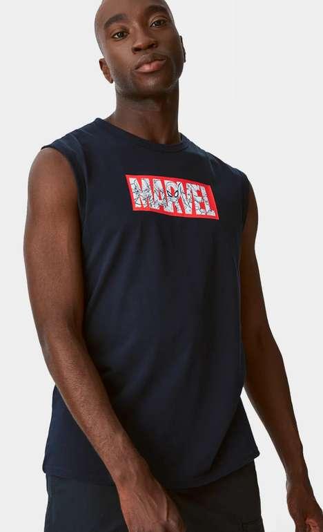 Marvel Herren Tank-Top in Schwarz ab 5,24€ inkl. Versand (statt 15€)