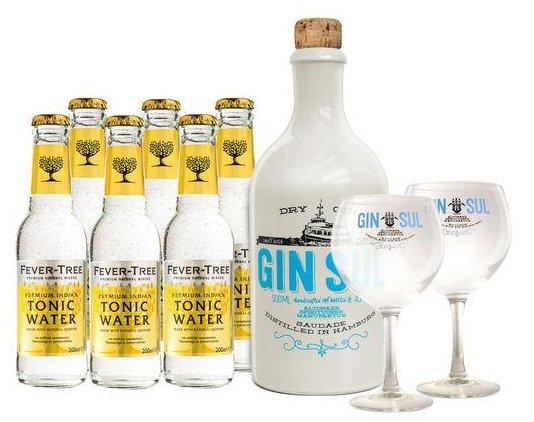 500ml Gin Sul + 6 Flaschen Indian Tonic + 2 Gläser für 39,90€ inkl. Versand
