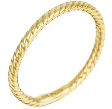 Diamanta Schmuck Sale mit bis zu -61% Rabatt - z.B. Gelbgold Ring für 79,90€