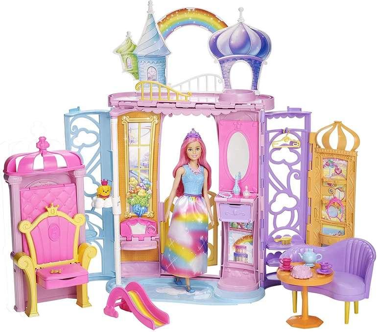 Barbie Dreamtopia Regenbogen-Königreich Schloss & Puppe für 31,98€ inkl. Versand (statt 38€)