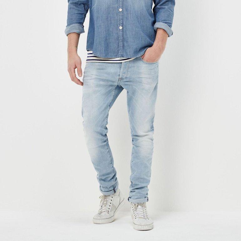 """G-Star RAW 3301 Tapered Jeans """"Lt Aged"""" für Herren nur 46,78€ inkl. Versand"""