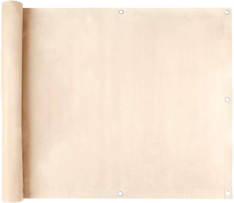 Swanew Balkonbespannung (3 Farben & 2 Größen) reduziert, z.B. 75*600cm für 13,99€