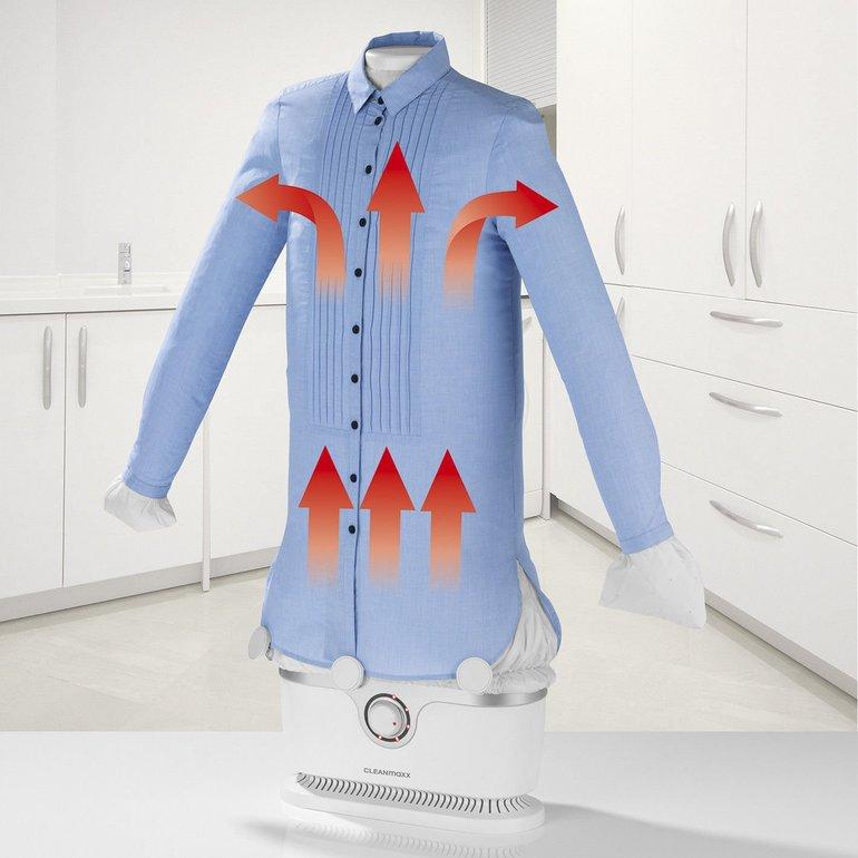 CLEANmaxx Bügler für Hemden und Blusen 2in1 für 56€ inkl. Versand