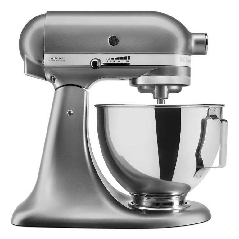 KitchenAid Küchenmaschine 5KSM95PSECU mit 4,3 Liter Edelstahlschüssel für 269,90€
