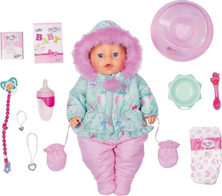 Baby Born Puppe Soft Touch Winter Edition für 41,48€ inkl. Versand (statt 59€)