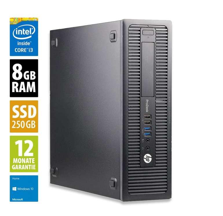 HP ProDesk 600 G1 SFF mit i3-4130, 8GB RAM und 250GB SSD für 89€