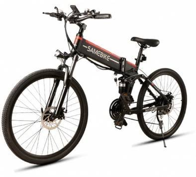 Samebike LO26 - Faltbares E-Bike (bis 30 km/h, 10.4Ah, Scheibenbremsen) für 777,64€ inkl. Versand
