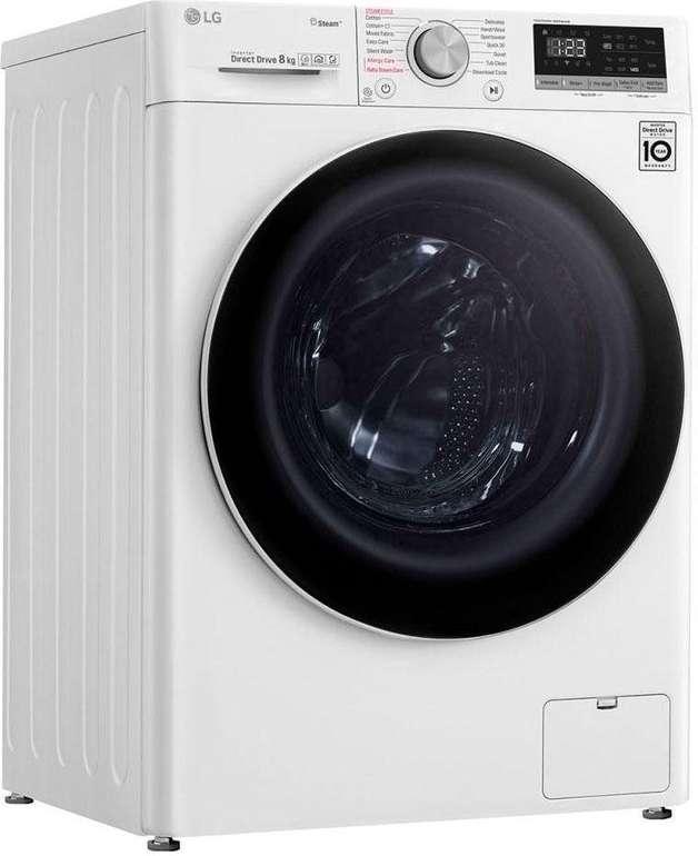 LG F4WV408S0 Serie 4 Waschmaschine (8 kg, 1360 U/Min.) für 369,99€ inkl. Versand (statt 399€)