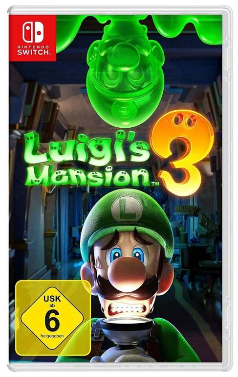 Luigis Mansion 3 (Nintendo Switch) für 35€ - Mastercard!