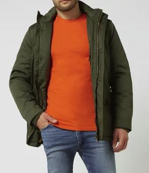 """Montego Parka mit Wattierung Modell """"Hurley"""" in grün für 59,99€ inkl. Versand (statt 80€)"""