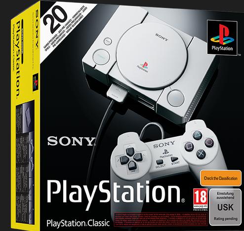 Sony PlayStation Classic + 2 Controller für 34,80€ inkl. Versand - Paydirekt!