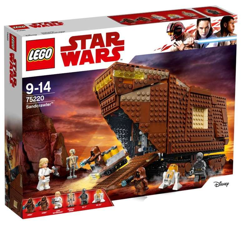 Lego Star Wars - Sandcrawler (75220) für 79,99€ inkl. Versand (statt 116€)