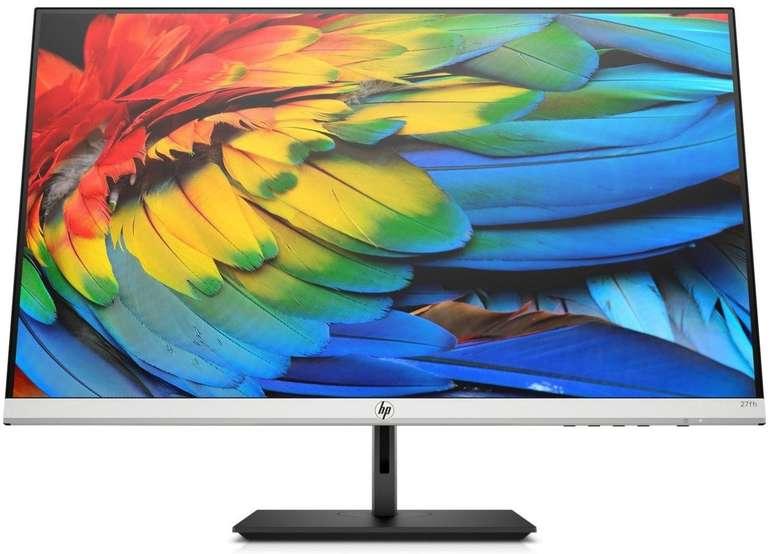 """HP 27FH - 27"""" Monitor (5ms, 60Hz, höhenverstellbar, 1080p, IPS) für 134€ inkl. Versand (statt 155€) - Newsletter!"""