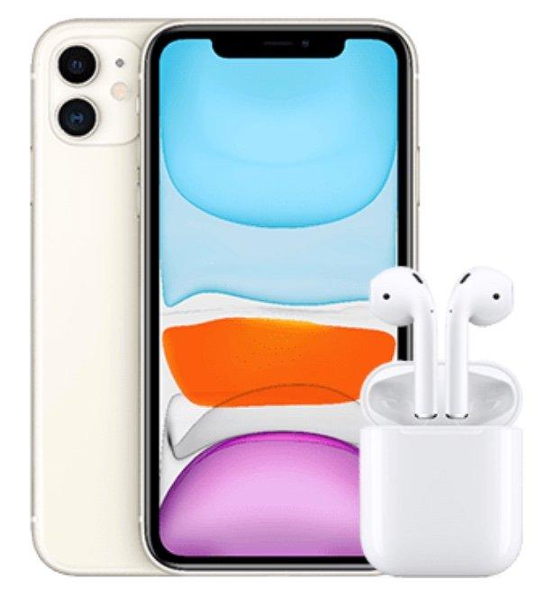 Apple iPhone 11 + Apple AirPods (33,86€) + o2 Free Unlimited Max Allnet Flat mit unbegrenztem LTE für 49,99€ mtl.