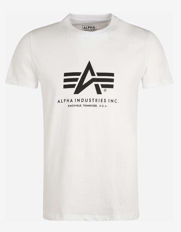 Alpha Industries Herren T-Shirt in verschiedenen Farben für 15,92€ inkl. Versand (statt 20€)