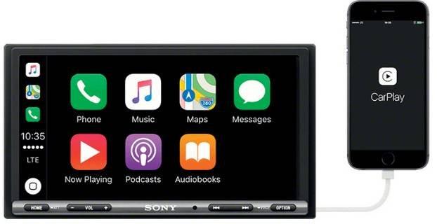 Sony XAV-AX 3005 Autoradio 2 DIN (Android/Apple, DAB+,55W) für 299€ (statt 350€)