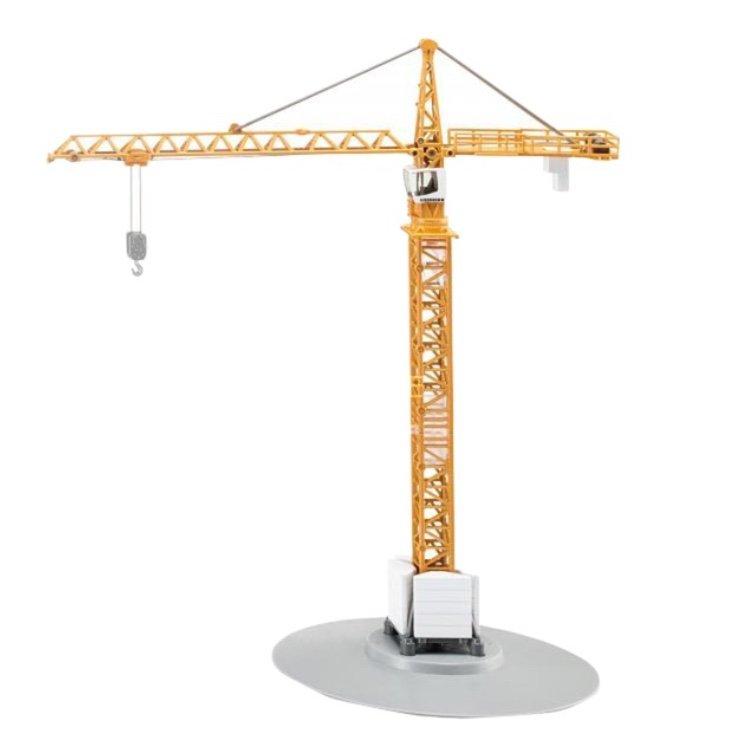 Siku Liebherr-Turmdrehkran (1:87, Höhe: 40 cm, 30 cm Ausleger, Seilzug, 360° schwenkbar) für 29,98€ (statt 38€)