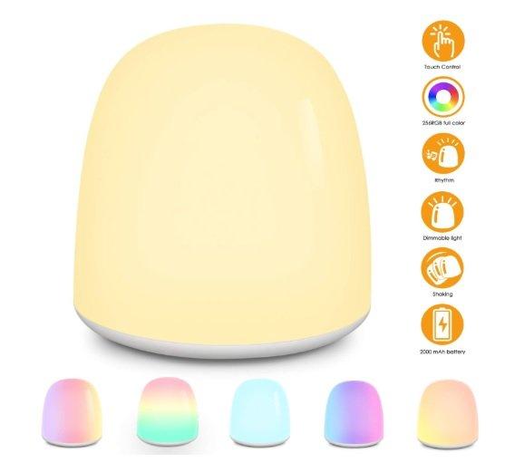Elepowstar Baby Nachtlicht LED (touch, dimmbar) für 11,49€ inkl Prime-Versand (statt 23€)
