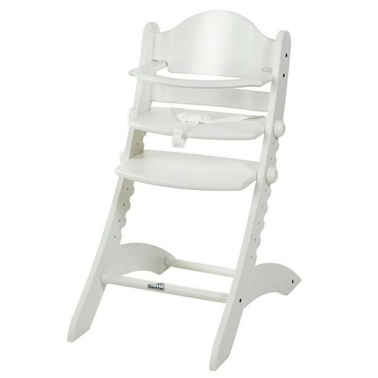 Geuther Hochstuhl Swing in weiß für 90,21€ inkl. Versand (statt 99€)