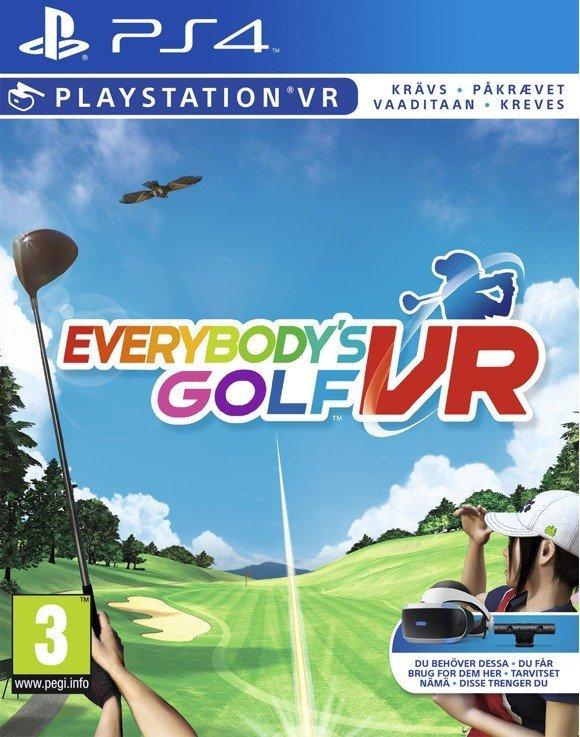 Everybody's Golf (PSVR) für 12,95€ inkl. Versand (statt 23€)